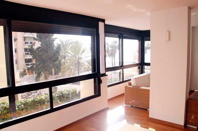 Frontline Beach Apartment For Sale, Malaga