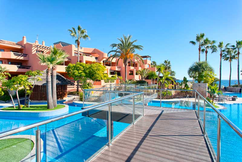 Front-line Beach Penthouse For Sale In Estepona