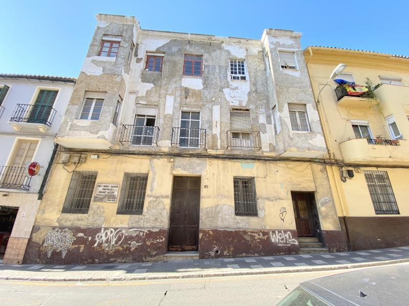 Apartment Building For Sale In The Centre Of Malaga City, Malaga