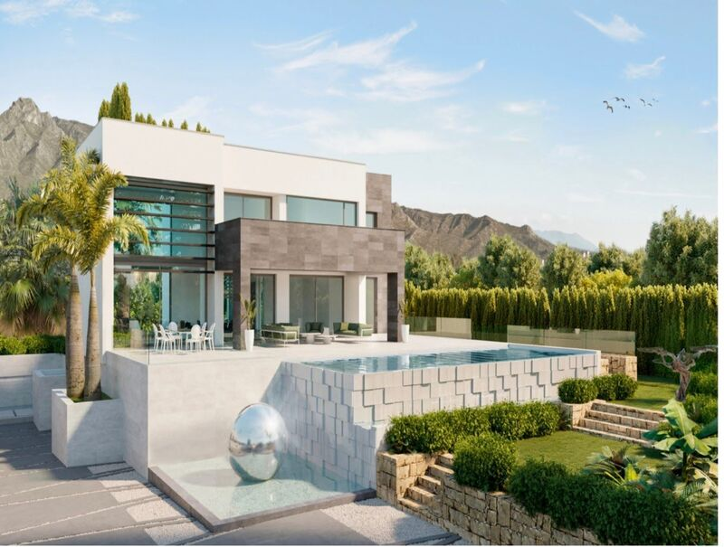 Luxurious Contemporary Villa For Sale In Altos Puente Romano, Marbella