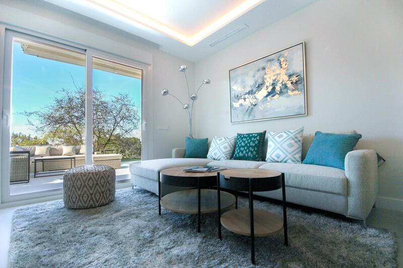 Stunning Ground Floor Apartment For Sale In Alcores del Golf, Nueva Andalucia