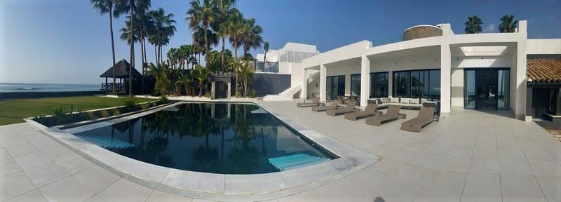Beach-Front Villa For Sale In Los Monteros, Marbella